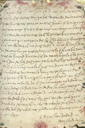 Lectura 19: la carta de la discordia