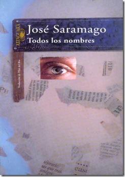 TODOS LOS NOMBRES, de José Saramago