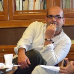 Imágenes del  libro forum con Alexis Ravelo (I)