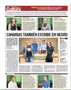 Canarias también escribe en negro