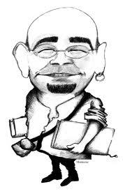 Caricatura de Alexis Ravelo
