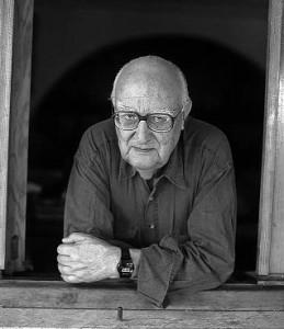 El novelista Andrea Camilleri