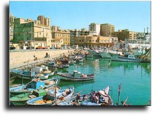Porto Empedocle en la isla de Sicilia