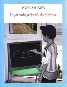 Cubierta del libro, que incluye una foto en la que un niño, de pie, escribe en una pequeña pizarra una fórmula matemática