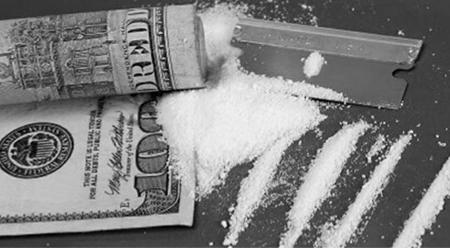 billetes con droga
