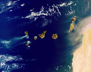 Mapa-de-las-las-Islas-Canarias-satelital
