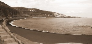 La Playa de La Laja. Las Palmas de Gran Canaria.