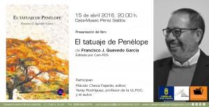 Presentación El tatuaje de Penélope. Paco Quevedo slider