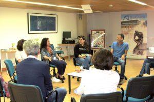 Fotos del libro fórum con Carlos González Sosa