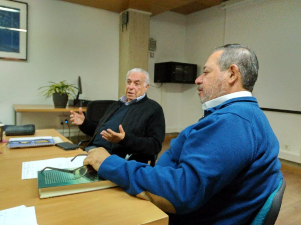 Manuel Domínguez Llera y Francisco Quevedo García